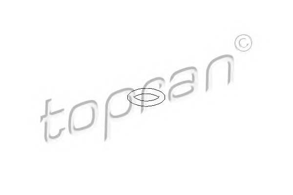 УПЛОТНИТНИТЕЛЬНОЕ КОЛЬЦО ДАТЧИКОВ ТЕМПЕРАТУРІ (19,6X3,65) VW/AUDI TOPRAN 104529