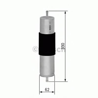 Топливные фильтры Топливный фильтр BOSCH арт. 0450905961