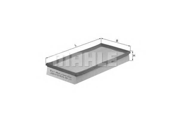 Воздушные фильтры Фільтр повітря KNECHT арт. LX504