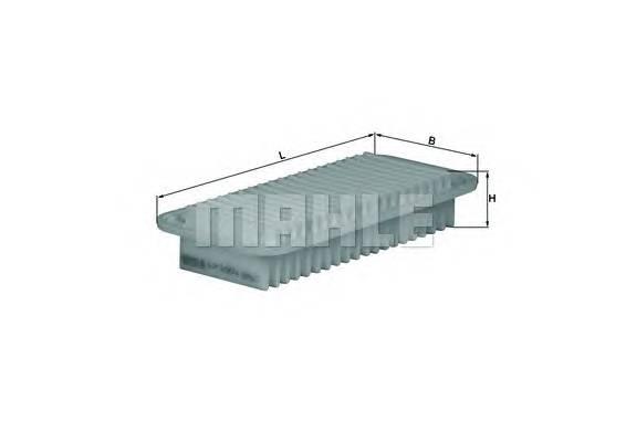 Воздушные фильтры Фільтр повітря KNECHT арт. LX1001