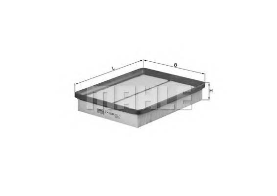 Воздушные фильтры Фільтр повітря KNECHT арт. LX1039