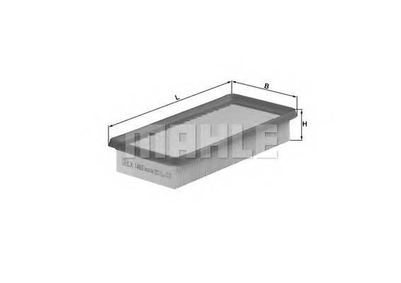 Воздушные фильтры Фільтр повітря KNECHT арт. LX1465