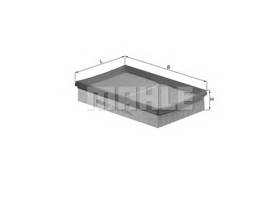 Воздушные фильтры Фільтр повітря KNECHT арт. LX1575