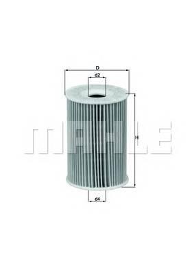 Масляные фильтры Фільтр масляний KNECHT арт. OX1351D
