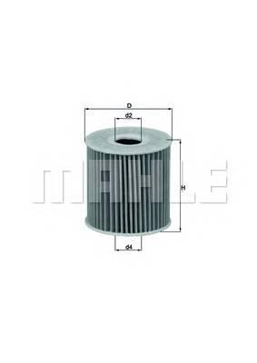 Масляные фильтры Фільтр масляний KNECHT арт. OX192D