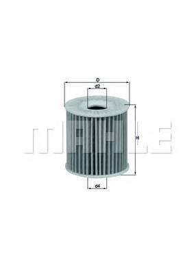 Масляные фильтры Фільтр масляний KNECHT арт. OX346D