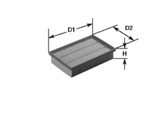 Воздушные фильтры Фільтр повітря MAGNETIMARELLI арт. 153071760182