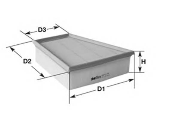 Воздушные фильтры Фільтр повітря MAGNETIMARELLI арт. 152071758645