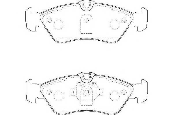 Тормозные колодки Тормозные колодки дисковые WAGNER арт. WBP21592A