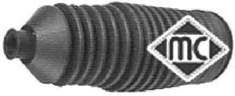 Пыльник, рулевое управление  Metalcaucho  (пыльник, хомутик, смазка) METALCAUCHO 01370