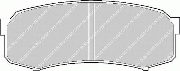 Тормозные колодки Тормозные колодки Ferodo PAGID арт. FDB1021
