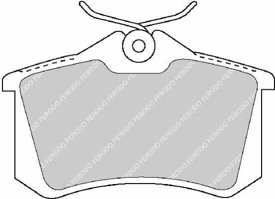 Тормозные колодки Тормозные колодки Ferodo PAGID арт. FDB1491