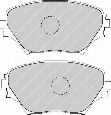 Тормозные колодки Тормозные колодки Ferodo PAGID арт. FDB1514