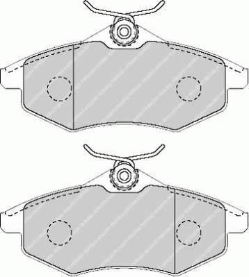 Тормозные колодки Тормозные колодки Ferodo ABE арт. FDB1542