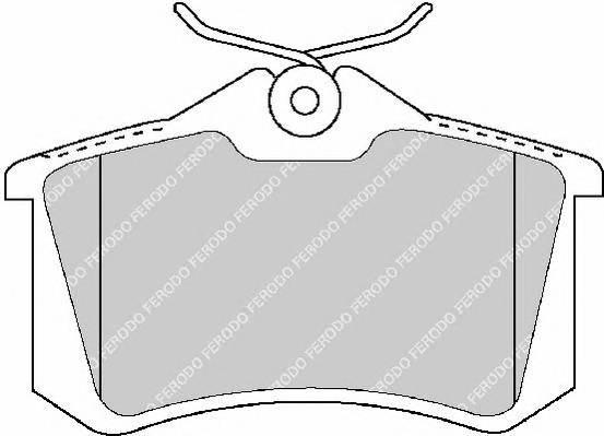 Тормозные колодки Тормозные колодки Ferodo PAGID арт. FDB1770