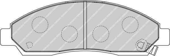 Тормозные колодки Тормозные колодки дисковые ABE арт. FDB1816