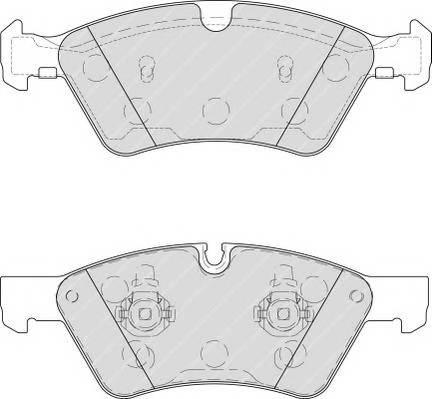 Тормозные колодки Тормозные колодки Ferodo ABE арт. FDB1830