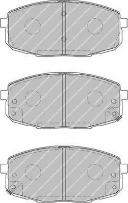 Тормозные колодки Тормозные колодки Ferodo ABE арт. FDB1869