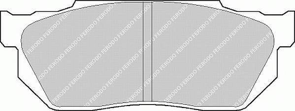 Тормозные колодки Тормозные колодки Ferodo PAGID арт. FDB300
