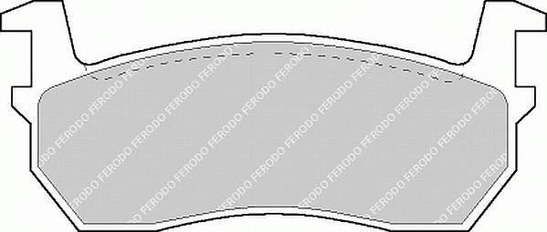Тормозные колодки Тормозные колодки дисковые ABE арт. FDB316