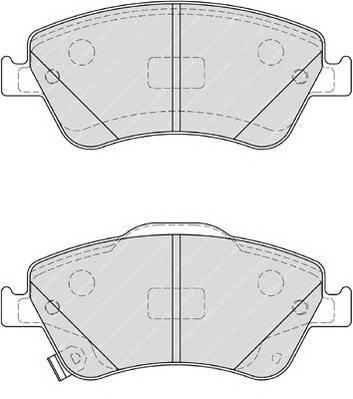 Тормозные колодки Тормозные колодки Ferodo ABE арт. FDB4046