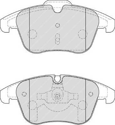 Тормозные колодки Тормозные колодки Ferodo ABE арт. FDB4160