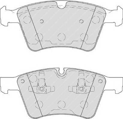 Тормозные колодки Тормозные колодки дисковые ABE арт. FDB4189