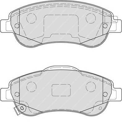 Тормозные колодки Тормозные колодки дисковые ABE арт. FDB4228