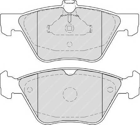 Тормозные колодки Тормозные колодки PAGID арт. FDB4289