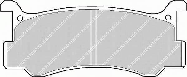 Тормозные колодки Тормозные колодки дисковые PAGID арт. FDB482
