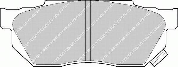 Тормозные колодки Тормозные колодки Ferodo ABE арт. FDB585