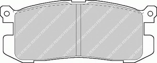 Тормозные колодки Тормозные колодки Ferodo PAGID арт. FDB630