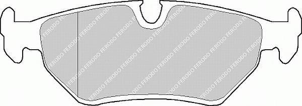 Тормозные колодки Тормозные колодки дисковые PAGID арт. FDB632