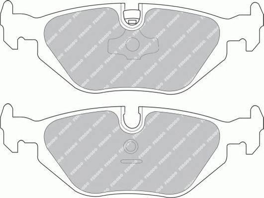 Тормозные колодки Тормозные колодки дисковые PAGID арт. FDB850