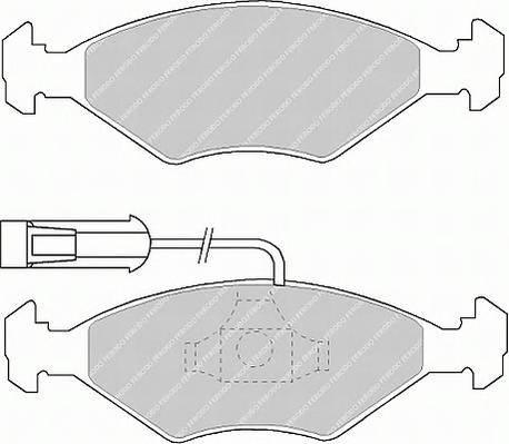 Тормозные колодки Тормозные колодки Ferodo ABE арт. FDB912