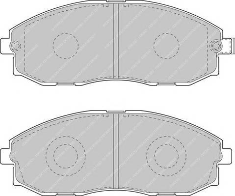 Тормозные колодки Тормозные колодки Ferodo PAGID арт. FVR1498