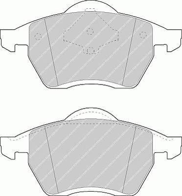 Тормозные колодки Тормозные колодки Ferodo PAGID арт. FSL1055