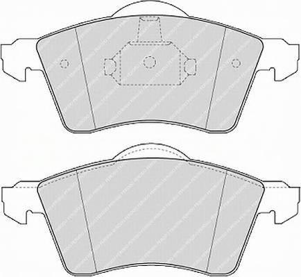 Тормозные колодки Тормозные колодки Ferodo PAGID арт. FSL1163