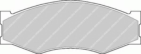 Тормозные колодки Тормозные колодки Ferodo ABE арт. FSL340