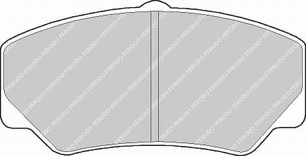 Тормозные колодки Тормозные колодки Ferodo ABE арт. FSL450