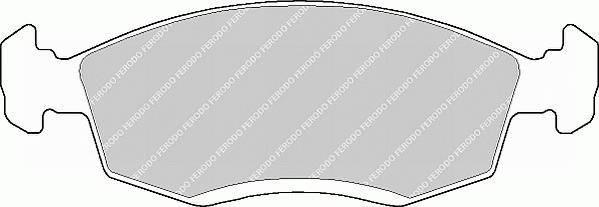 Тормозные колодки Тормозные колодки Ferodo PAGID арт. FSL579