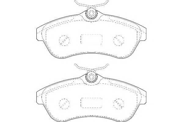 Тормозные колодки Тормозные колодки Wagner PAGID арт. WBP23409A