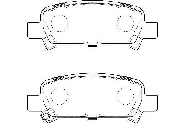Тормозные колодки Тормозные колодки Wagner PAGID арт. WBP23572A