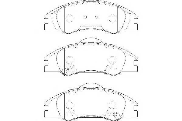 Тормозные колодки Тормозные колодки Wagner PAGID арт. WBP24218A