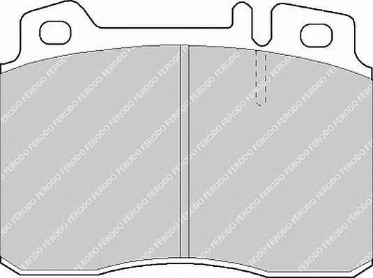 Тормозные колодки Тормозные колодки Ferodo PAGID арт. FDB1037