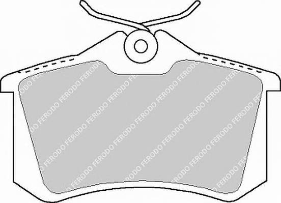 Тормозные колодки Тормозные колодки Ferodo PAGID арт. FDB1083