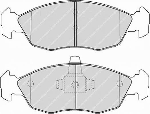 Тормозные колодки Тормозные колодки Ferodo PAGID арт. FDB1168