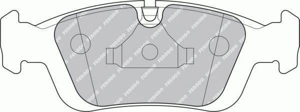 Гальмівні колодки, дискові PAGID арт. FDB1300
