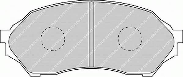 Тормозные колодки Тормозные колодки дисковые ABE арт. FDB1455