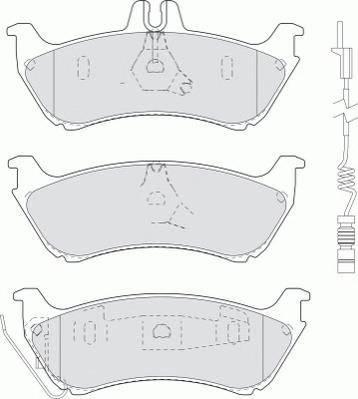 Тормозные колодки Тормозные колодки Ferodo PAGID арт. FDB1608